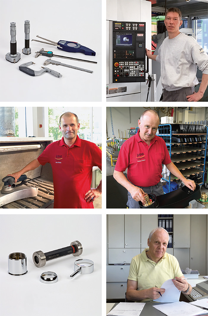 Employees and products of Jobst
