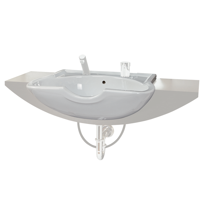 Contura PLUS barber's wash basin